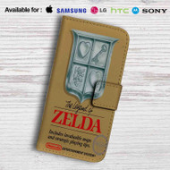 The Legend of Zelda Nintendo NES Game Leather Wallet Samsung Galaxy Note 5 Case