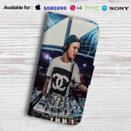 Avicii DJ Leather Wallet Samsung Galaxy Note 6 Case