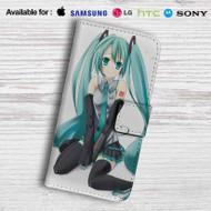Hatsune Miku Leather Wallet Samsung Galaxy Note 6 Case