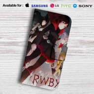 Rwby Ruby Rose Leather Wallet Samsung Galaxy Note 6 Case