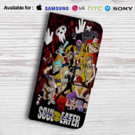 Soul Eater Friends Leather Wallet Samsung Galaxy Note 6 Case