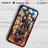 Attack on Titan Shingeki no Kyojin Characters iPhone 7 Case