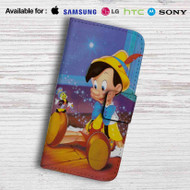 Disney Pinocchio Leather Wallet LG G2 Case