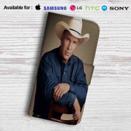 Garth Brooks Leather Wallet LG G2 Case