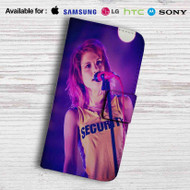 Hayley Williams Leather Wallet LG G2 Case