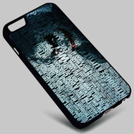 Joker Quotes Batman The Dark Knight  (1) on your case iphone 4 4s 5 5s 5c 6 6plus 7 Samsung Galaxy s3 s4 s5 s6 s7 HTC Case