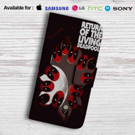 Return of The Living Deadpool Leather Wallet LG G2 Case