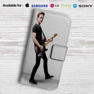 Hunter Hayes Guitar Leather Wallet LG G3 Case