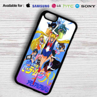Sailor Moon Characters Rainbow Samsung Galaxy S7 Case