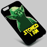 Master Yoda Star Wars 2 on your case iphone 4 4s 5 5s 5c 6 6plus 7 Samsung Galaxy s3 s4 s5 s6 s7 HTC Case