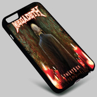 Megadeth Th1rt3en 1 on your case iphone 4 4s 5 5s 5c 6 6plus 7 Samsung Galaxy s3 s4 s5 s6 s7 HTC Case