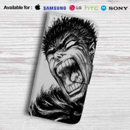 Berserk Guts Comics Leather Wallet LG G2 G3 G4 Case