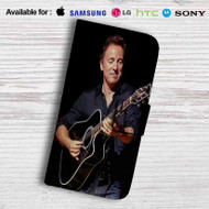 Bruce Springsteen Leather Wallet LG G2 G3 G4 Case