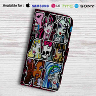 Monster High Leather Wallet LG G2 G3 G4 Case