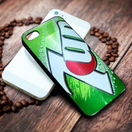 7 Up Soft Drink on your case iphone 4 4s 5 5s 5c 6 6plus 7 case / cases