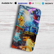 Pokken Tournament Leather Wallet LG G2 G3 G4 Case