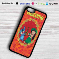 Disney Lilo and Stitch Welcome Samsung Galaxy Note 6 Case