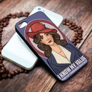 Agent Carter Quote I know my value capt Iphone 4 4s 5 5s 5c 6 6plus 7 case / cases