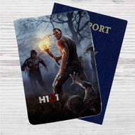 H1Z1 Game Custom Leather Passport Wallet Case Cover