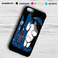 Baymax Big Hero Totoro on your case iphone 4 4s 5 5s 5c 6 6plus 7 Samsung Galaxy s3 s4 s5 s6 s7 HTC Case