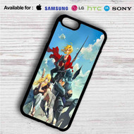 Edward Elric Alphonse Elric Winry Rockbell Fullmetal Alchemist B on your case iphone 4 4s 5 5s 5c 6 6plus 7 Samsung Galaxy s3 s4 s5 s6 s7 HTC Case