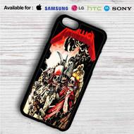 Metallica Four Horsemen on your case iphone 4 4s 5 5s 5c 6 6plus 7 Samsung Galaxy s3 s4 s5 s6 s7 HTC Case