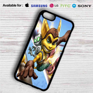 Ratchet & Clank on your case iphone 4 4s 5 5s 5c 6 6plus 7 Samsung Galaxy s3 s4 s5 s6 s7 HTC Case