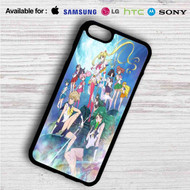 Sailor Moon Crystal 1 on your case iphone 4 4s 5 5s 5c 6 6plus 7 Samsung Galaxy s3 s4 s5 s6 s7 HTC Case