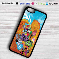 Teen Titans Go on your case iphone 4 4s 5 5s 5c 6 6plus 7 Samsung Galaxy s3 s4 s5 s6 s7 HTC Case