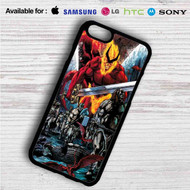 Thor Ragnarok Comic on your case iphone 4 4s 5 5s 5c 6 6plus 7 Samsung Galaxy s3 s4 s5 s6 s7 HTC Case