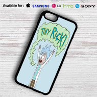 Tiny Rick and Morty on your case iphone 4 4s 5 5s 5c 6 6plus 7 Samsung Galaxy s3 s4 s5 s6 s7 HTC Case