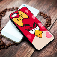 angry bird girl on your case iphone 4 4s 5 5s 5c 6 6plus 7 case / cases