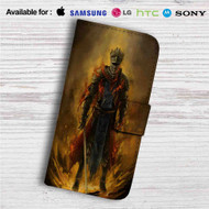 Dark Souls 3 Red Knight Custom Leather Wallet iPhone Samsung Galaxy LG Motorola Nexus Sony HTC Case