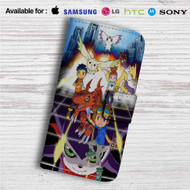 Digimon Tamers Custom Leather Wallet iPhone Samsung Galaxy LG Motorola Nexus Sony HTC Case