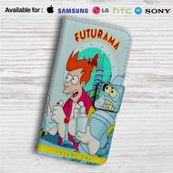 Futurama Volume One Custom Leather Wallet iPhone Samsung Galaxy LG Motorola Nexus Sony HTC Case