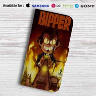 Gravity Falls Bipper Custom Leather Wallet iPhone Samsung Galaxy LG Motorola Nexus Sony HTC Case