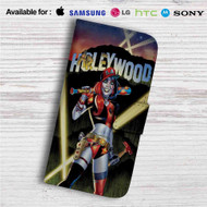 Harley Quinn Suicide Squad Custom Leather Wallet iPhone Samsung Galaxy LG Motorola Nexus Sony HTC Case