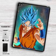 "Super Saiyan Blue Goku Dragon Ball Super iPad 2 3 4 iPad Mini 1 2 3 4 iPad Air 1 2 | Samsung Galaxy Tab 10.1"" Tab 2 7"" Tab 3 7"" Tab 3 8"" Tab 4 7"" Case"