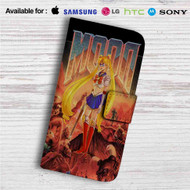 Sailor Moon Doom Custom Leather Wallet iPhone Samsung Galaxy LG Motorola Nexus Sony HTC Case
