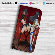 Sexy Ryuuko and Satsuki Kill La Kill Custom Leather Wallet iPhone Samsung Galaxy LG Motorola Nexus Sony HTC Case