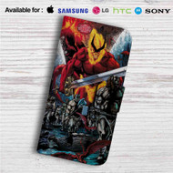 Thor Ragnarok Comic Custom Leather Wallet iPhone Samsung Galaxy LG Motorola Nexus Sony HTC Case