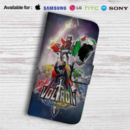 Voltron Force Custom Leather Wallet iPhone Samsung Galaxy LG Motorola Nexus Sony HTC Case