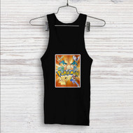 Ash and Pokemon Custom Men Woman Tank Top