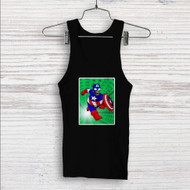 Bart Simpson Captain America Custom Men Woman Tank Top