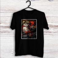 Harley Quinn and Deadpool Fallin Love Custom T Shirt Tank Top Men and Woman
