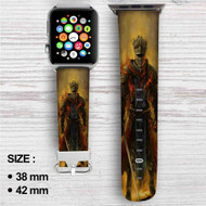 Dark Souls 3 Red Knight Custom Apple Watch Band Leather Strap Wrist Band Replacement 38mm 42mm