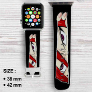 Fairy Tail Erza Scarlet Custom Apple Watch Band Leather Strap Wrist Band Replacement 38mm 42mm