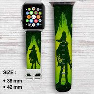 Link The Legend of Zelda Custom Apple Watch Band Leather Strap Wrist Band Replacement 38mm 42mm