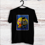 Pooh and Piglet Batman Robin Custom T Shirt Tank Top Men and Woman