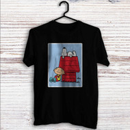 The Peanuts Snoopy and Family Guy Custom T Shirt Tank Top Men and Woman